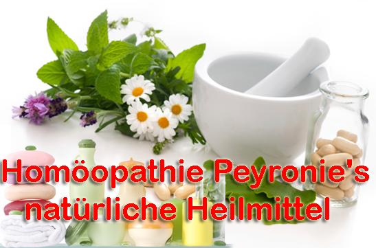 Homöopathie Peyronie's natürliche Heilmittel