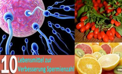 10 erstaunliche Nahrungsmittel zur Verbesserung der Spermienzahl und Qualität