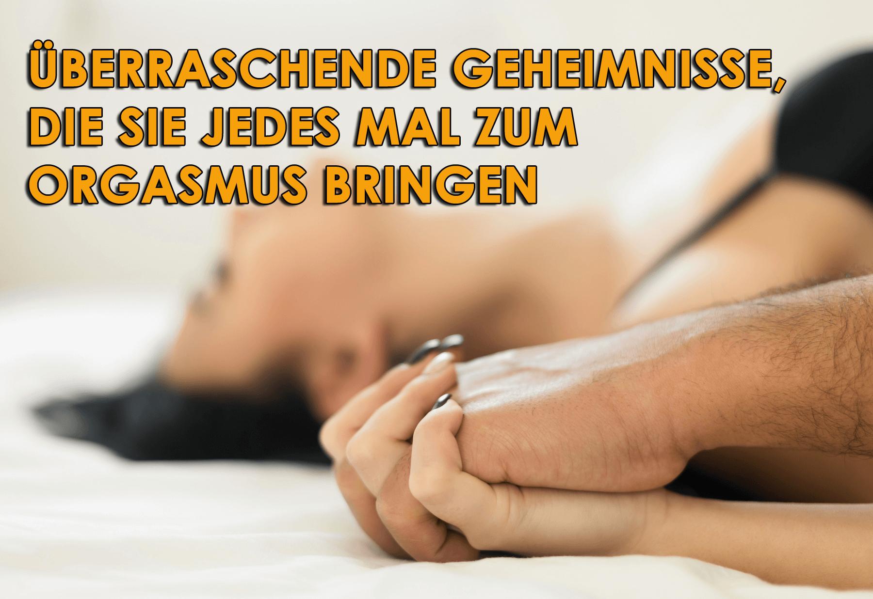Weiblicher Orgasmus
