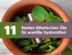 besten ätherischen Öle für erektile Dysfunktion